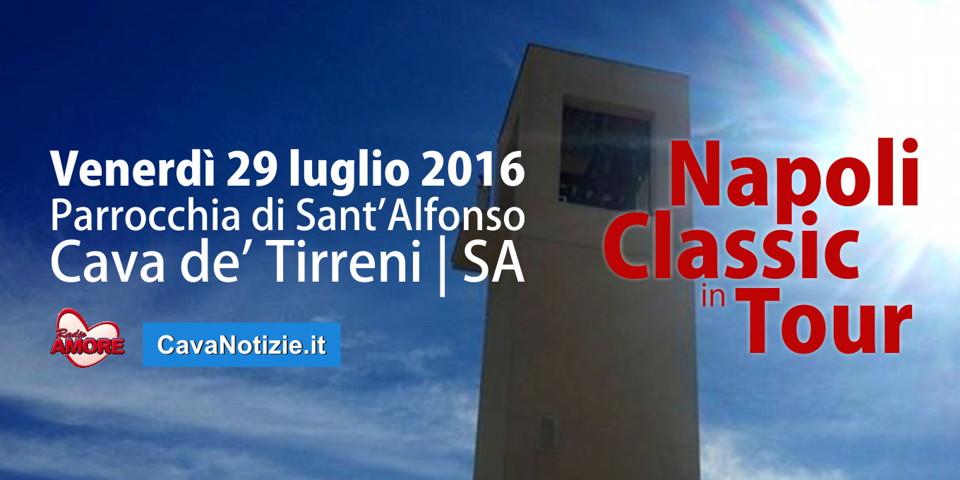 Napoli Classic in Tour a Cava de' Tirreni