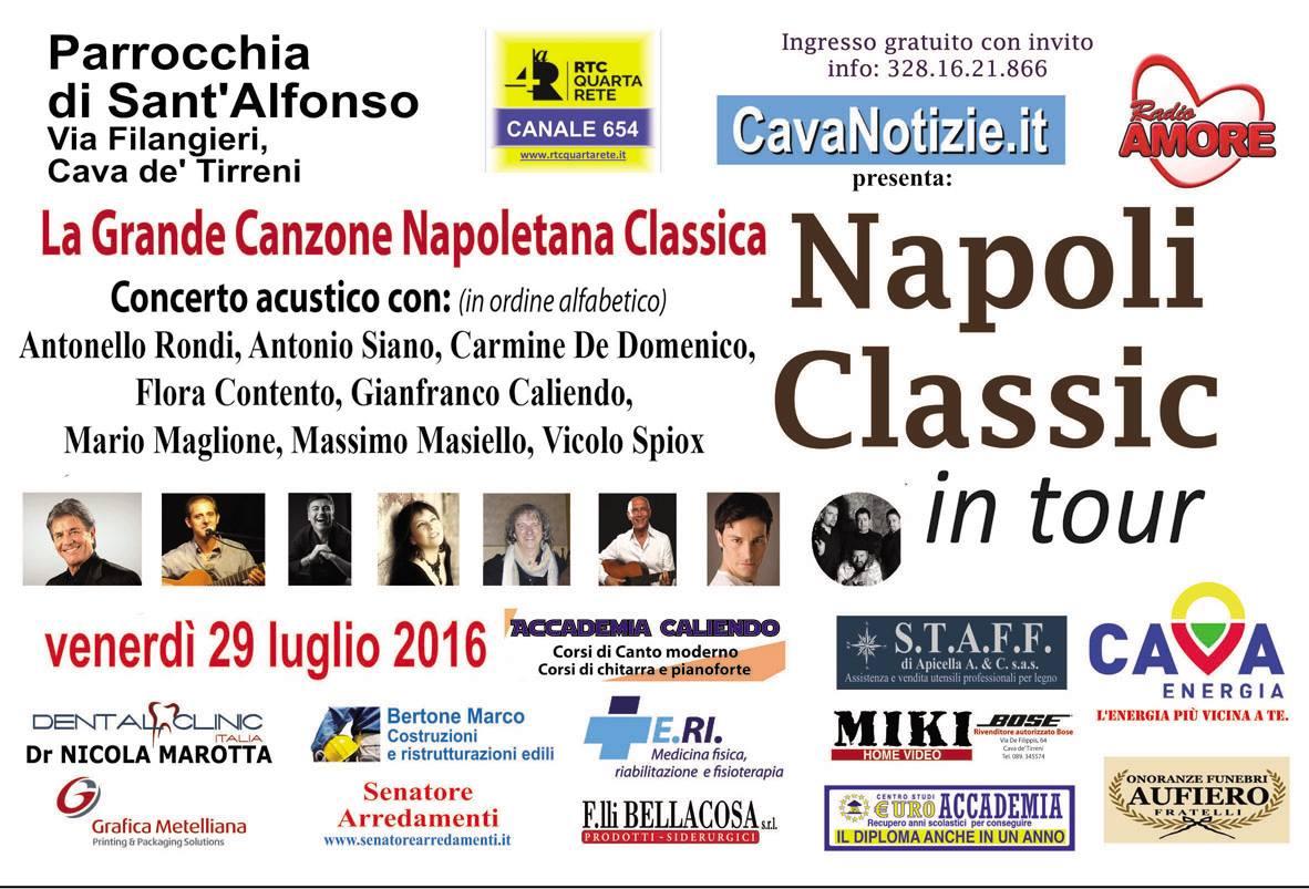 napoli classic in tour cava