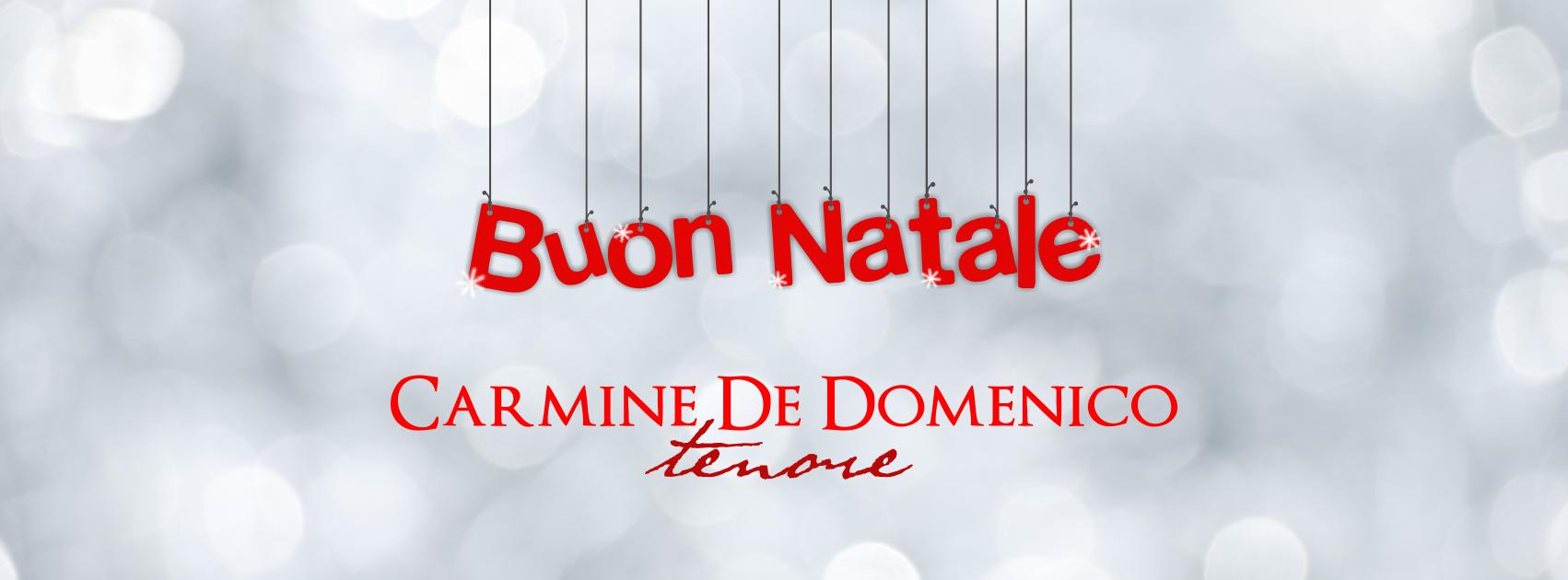 BUON NATALE DA CARMINE DE DOMENICO